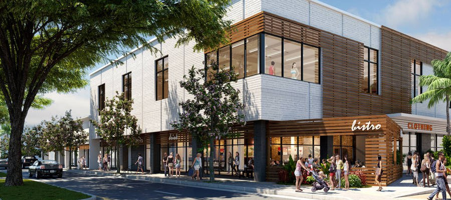 Illustration: Artist rendering of the new Down to Earth Kailua Store