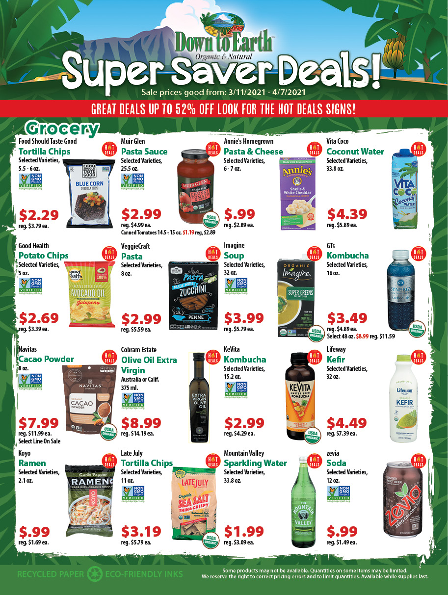 Deals Flyer - Page 1