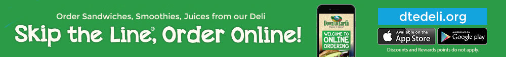 Order Sandwiches, Smoothies, Juices from our Deli