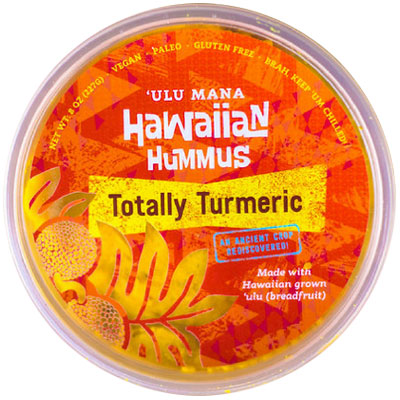 Totally Turmeric Hawaiian Hummus