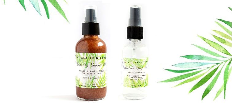 Ny'ala Skin Care Products
