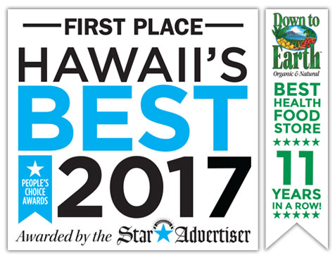 First Place: Hawaii's Best 2017: Awarded by the Star Advertiser