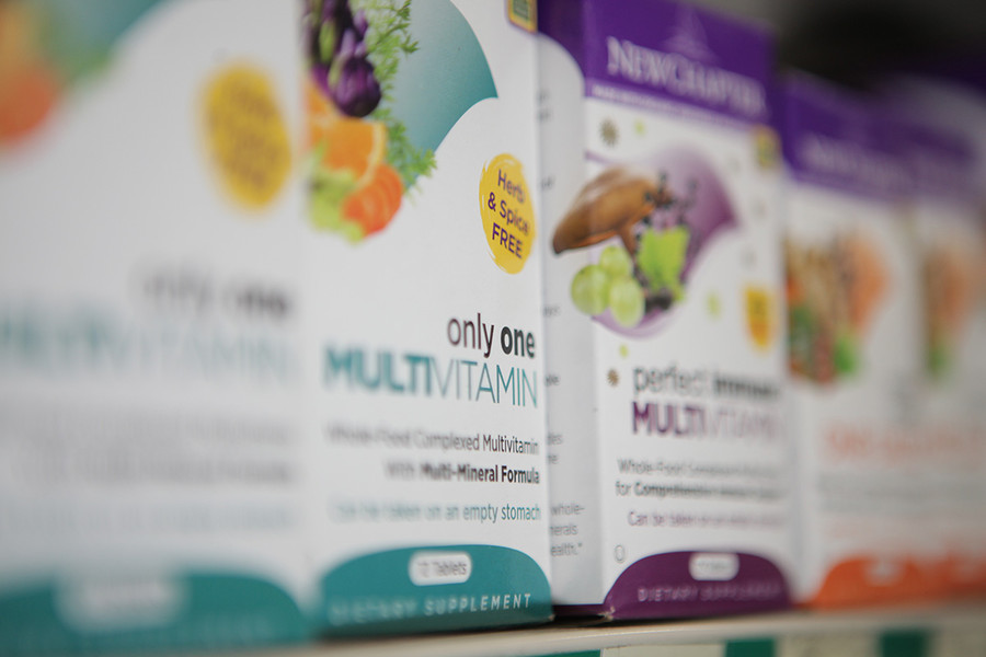Photo: Vitamin Supplements