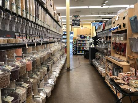 Photo: Bulk foods isle at Down to Earth Pearlridge