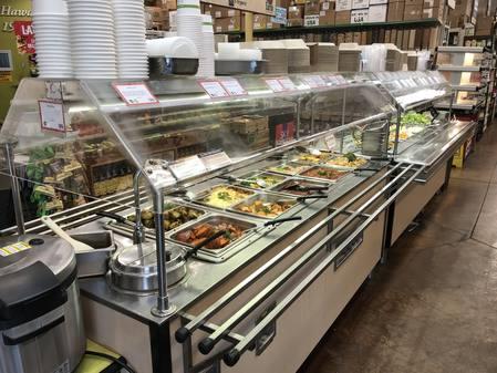 Photo: Deli hot table and salad bar at Down to Earth Pearlridge
