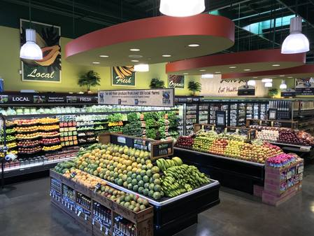 Photo: Produce Department at Down to Earth Kapolei.