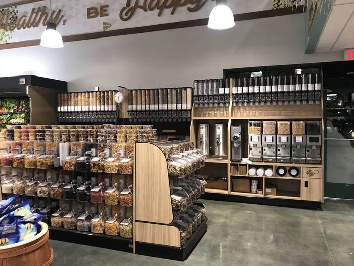 Photo: Bulk Foods aisle at Down to Earth Pearlridge