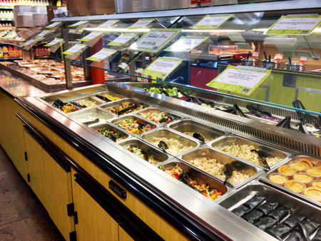 Photo: Deli Department at Down to Earth Honoluulu