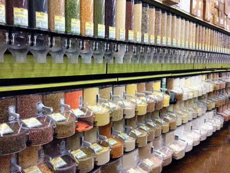 Photo: Bulk Food Section at Down to Earth Pearlridge