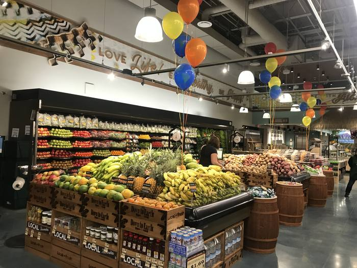 Photo: Produce Department at Down to Earth Pearlridge
