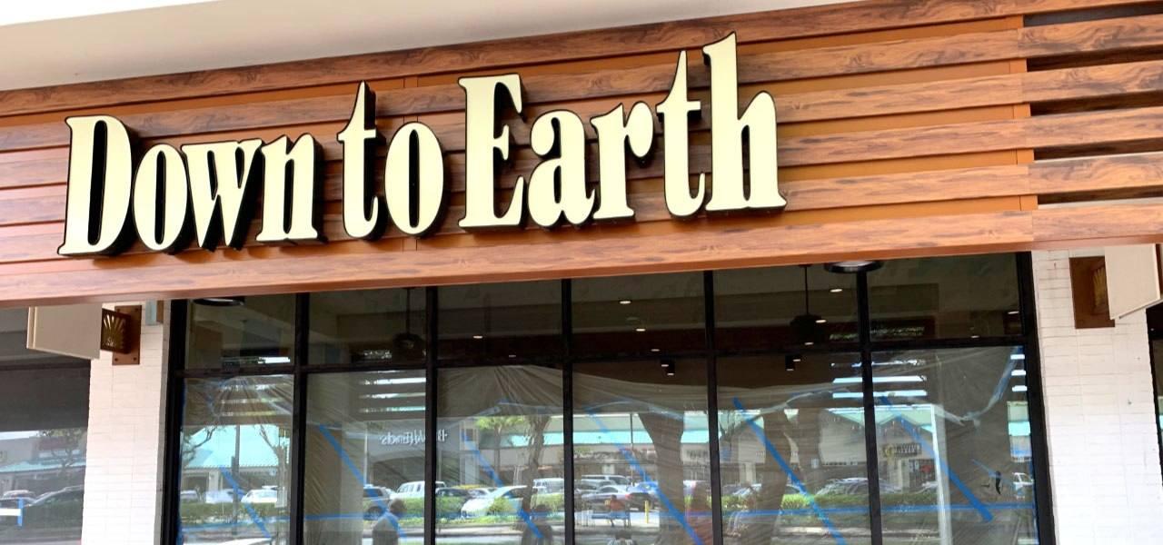 Photo: Down to Earth Kailua Store