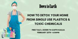Down to Earth: How to Detox Your Home from Single Use Plastics and Toxic Chemicals