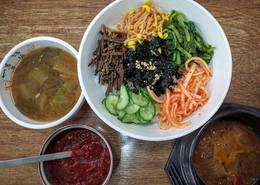 Photo: Korean and Local Foods