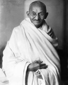 Photo: Mahatma Gandhi