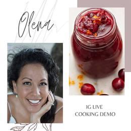 IG Live Cooking Demo with Olena Heu