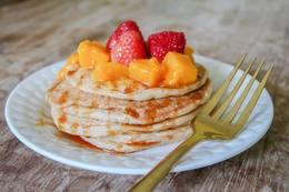 Photo: Delicious Plant-Based Buttermilk Pancakes