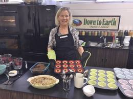 Photo: Sheila Wrede in the DTE Kitchen
