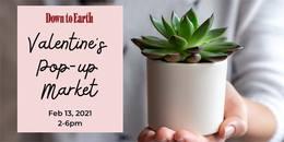 Kakaako Valentine's Day Pop-Up Market: February 13, 2021 2-6pm