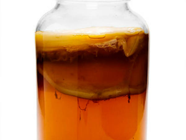 Photo: Jar of Iced Kombucha