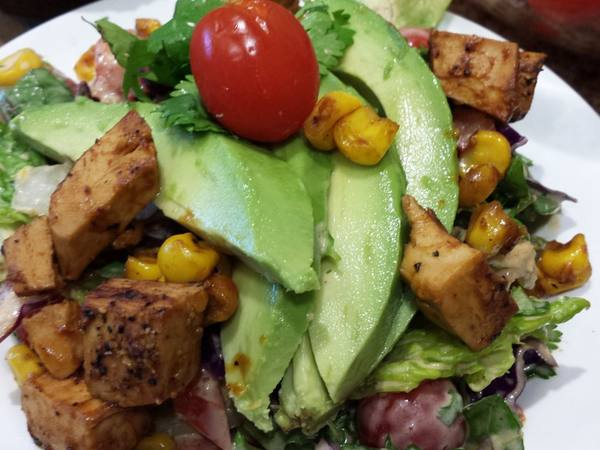Photo: BBQ Mock Chicken Salad