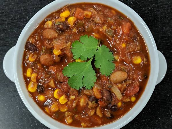 Bean and Corn Chili