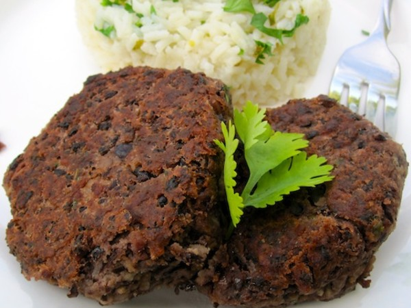 Photo: Black Bean Patties
