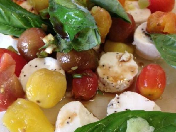 Photo: Blanched Tomato Salad