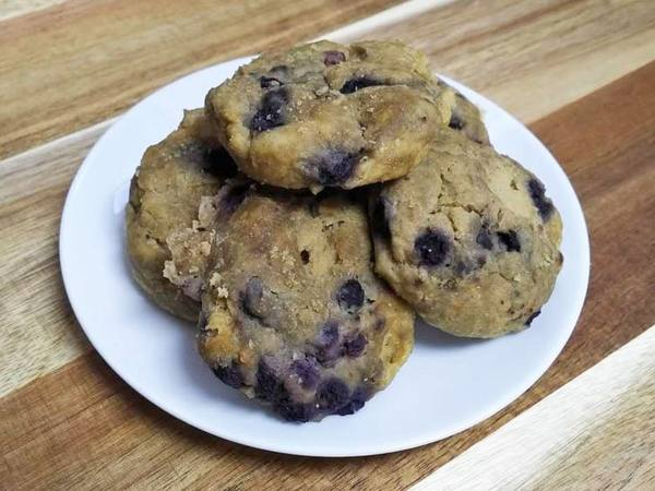 Photo: Gluten Free Blueberry Maca Scone