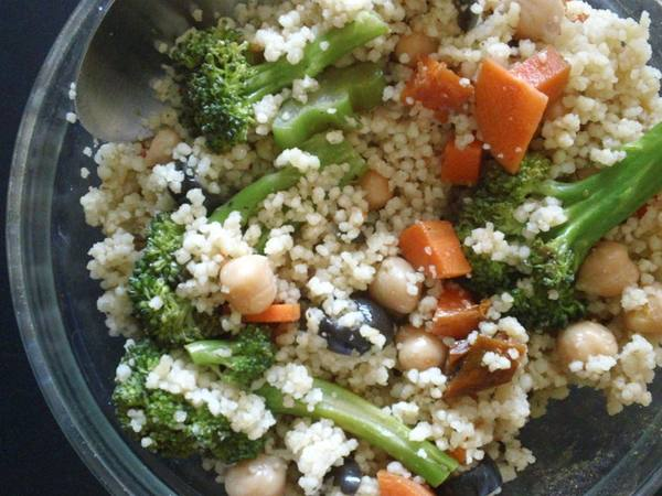 Photo: Broccoli Couscous Salad