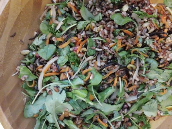 Photo: Brown and Red Rice Salad