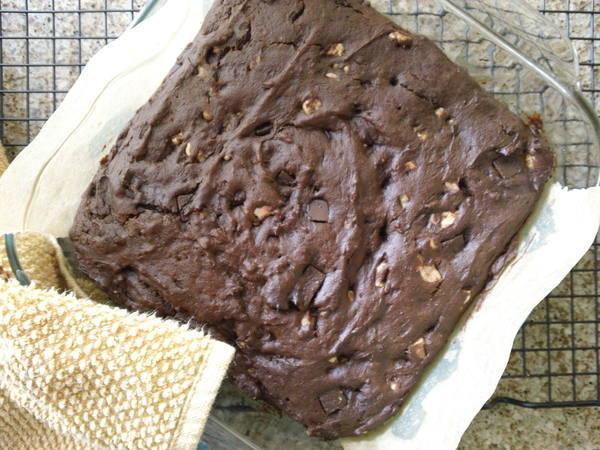 Photo: Sweet Potato Brownies
