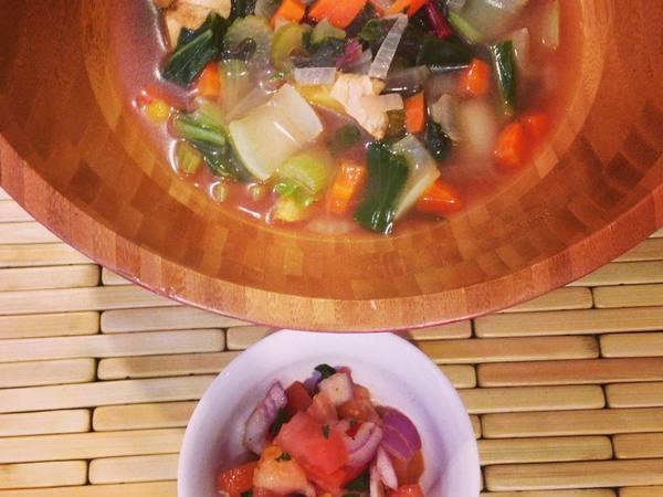 Photo: Filipino Ginger Soup