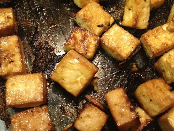 Photo: Crispy Tofu Squares