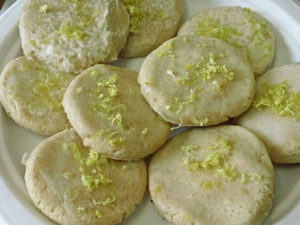 Photo: Frosted Lemon Cookies