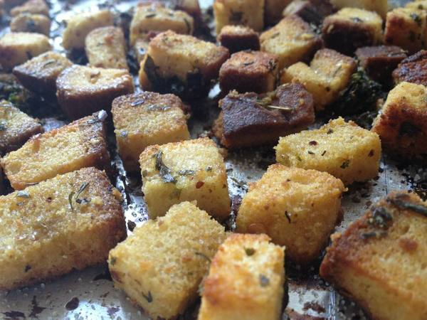 Photo: Gluten Free Herbed Croutons