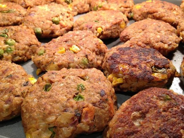 Gluten-Free Veggie Patties