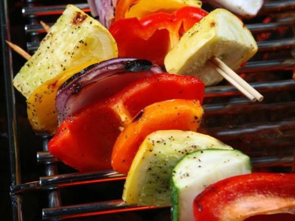 Photo: Grilled Veggie Kabobs