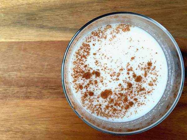 Photo: Coconut Horchata with Cinnamon