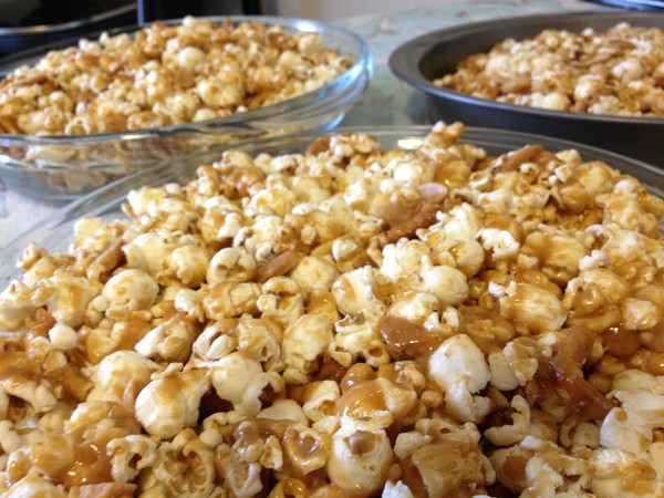 Photo: Peanut Butter Popcorn Cake