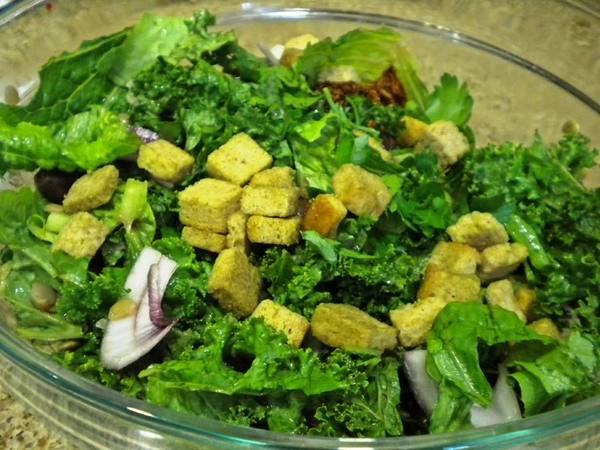 Photo: Kale and Lentil Coin Salad