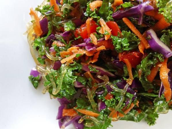 Photo: Kelp Noodle Salad