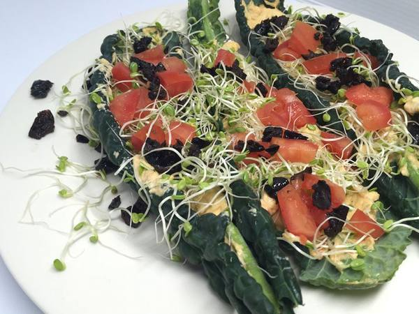 Photo: Lacinato Kale Wraps