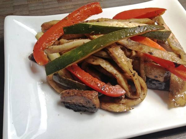 Photo: Marinated Roasted Vegetables
