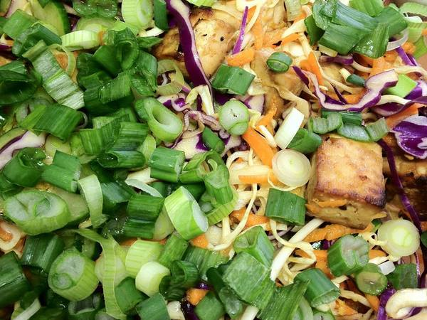 Photo: Tofu Salad