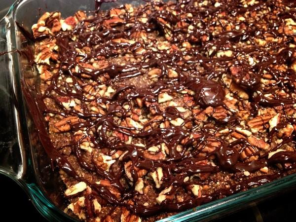 Photo: Chocolate Pecan Bars