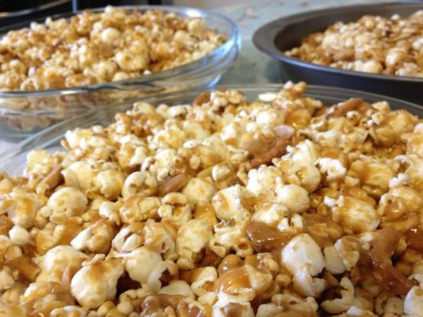 Photo: Peanut Butter Popcorn Cake