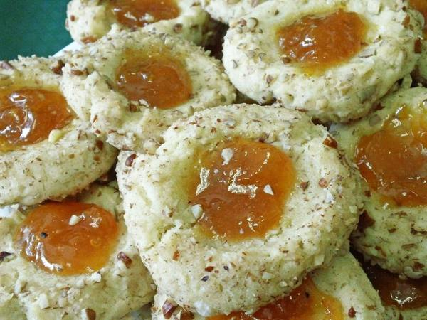Photo: Pecan Thumbprint Cookies