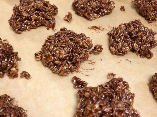 Photo: No Bake Chocolate Oat Cookies