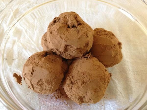 Photo: Chocolate Almond Truffles