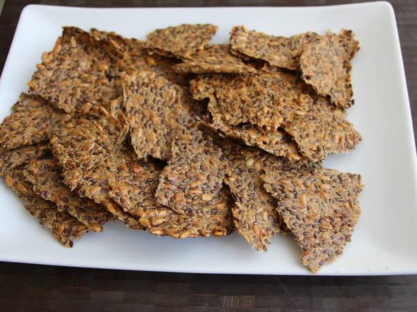 Photo: Flax Crackers